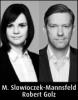 Robert Golz und Marie Slowioczek-Mannsfeld