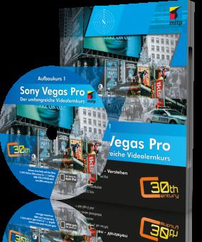 Sony Vegas Pro - Aufbaukurs (Downloadprodukt, ca. 800 MB)