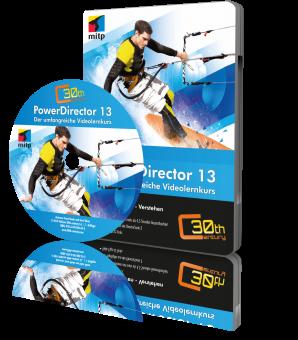 CyberLink PowerDirector 13 (Downloadprodukt, ca. 750 MB)