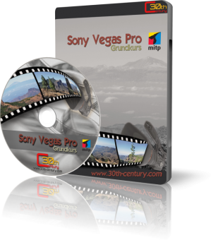 Sony Vegas Pro - Grundkurs (Downloadprodukt, ca. 600 MB)