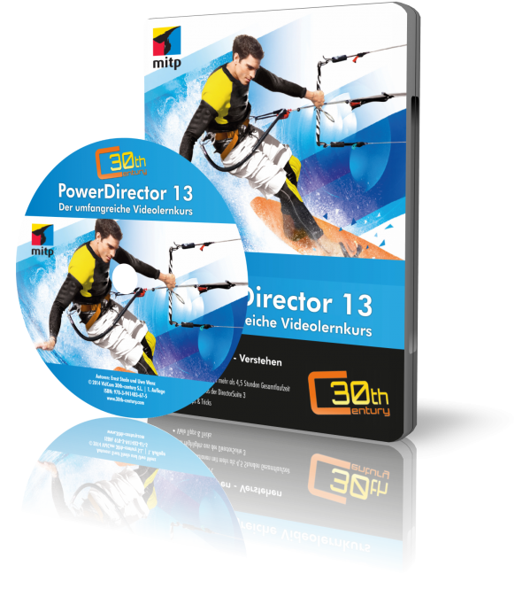 CyberLink PowerDirector 13 (Downloadprodukt, ca. 750 MB)