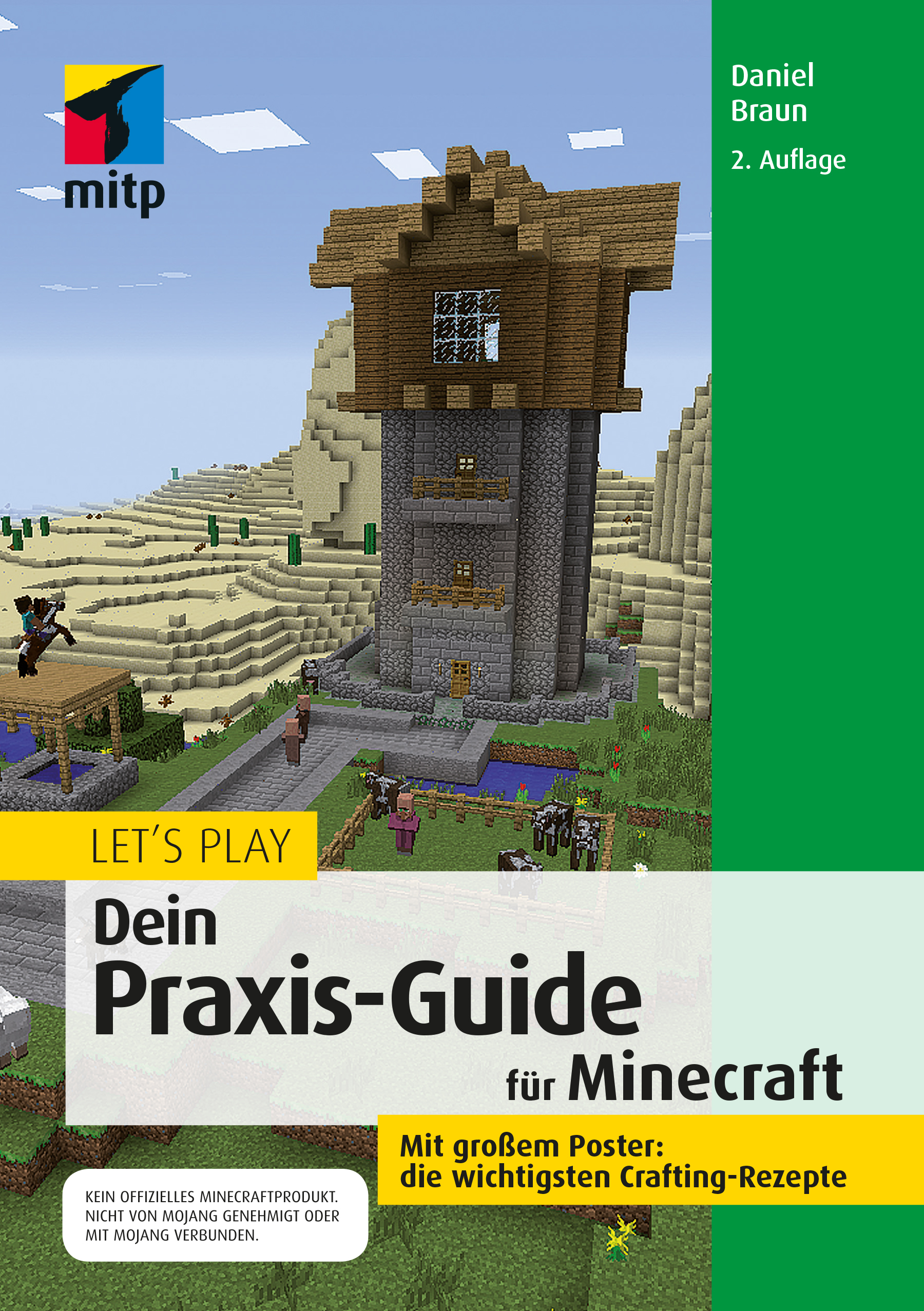 MitpVerlag Lets Play Dein PraxisGuide Für Minecraft Online - Minecraft haus unter wasser bauen
