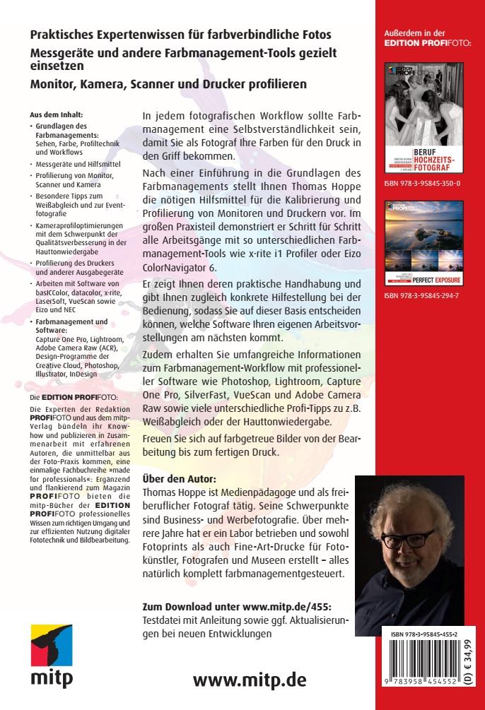 mitp-Verlag | Farbmanagement für Fotografen | online kaufen