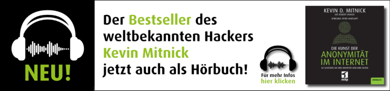 Hoerbuch Kevin Mitnick